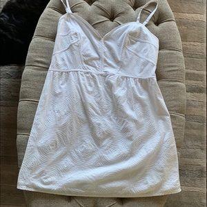***3 for $25*** White textured mini dress